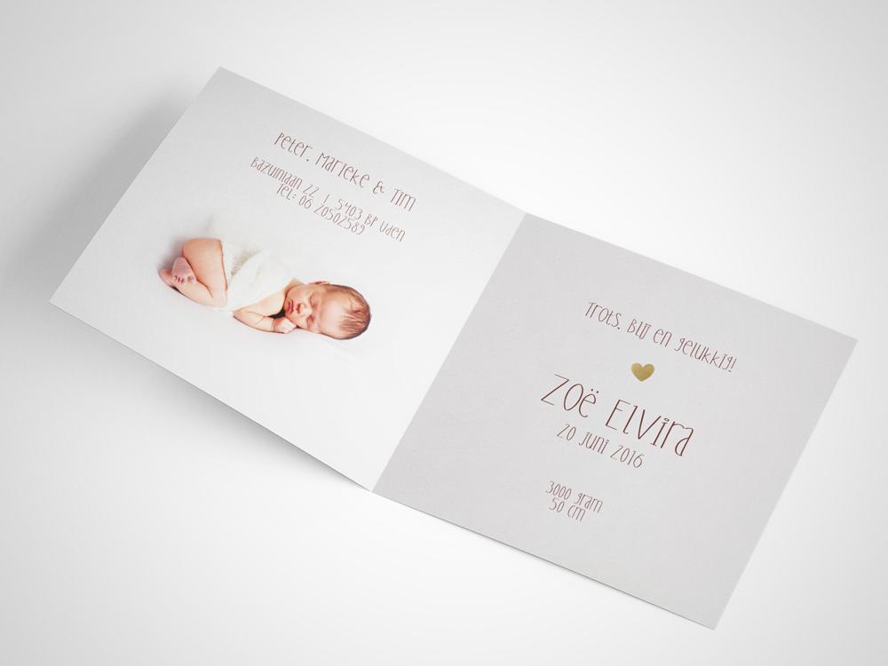 Geboortekaartje 1 binnenzijde
