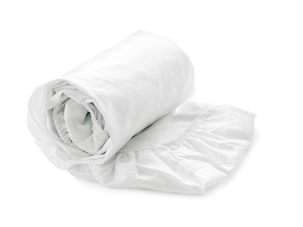 Fitted Sheet-White