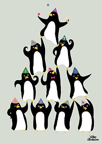 Party_Penguins._A3.jpg