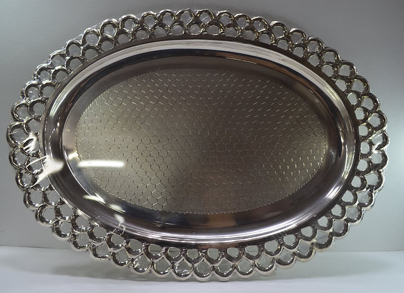 Silver Spherical Plate