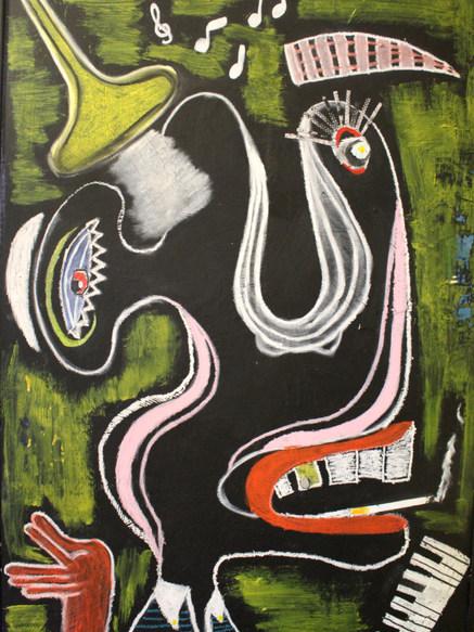 Jazz man (sold)