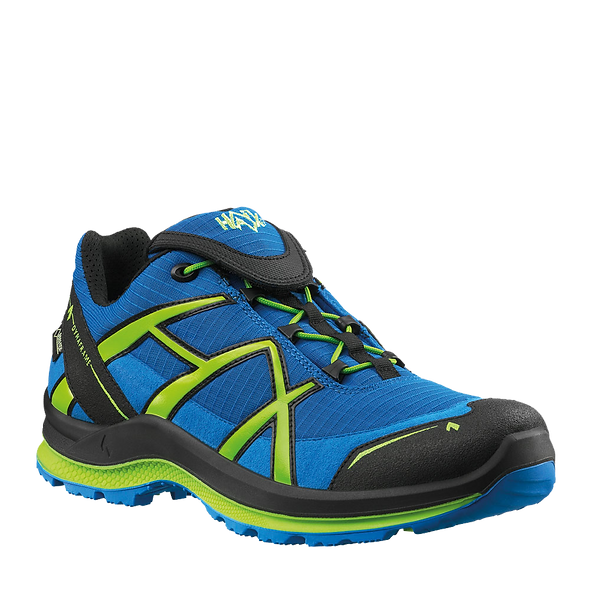 HAIX BLACK EAGLE ADVENTURE 2.0 WS LOW / BLUE-CITRUS / GTX