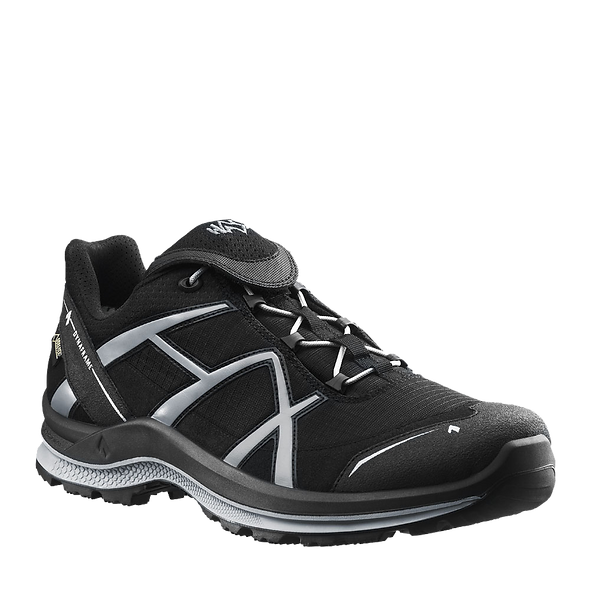 HAIX BLACK EAGLE ADVENTURE 2.0 LOW / BLACK-SILVER / GTX