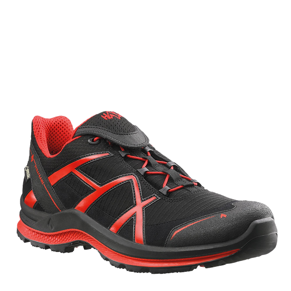 HAIX BLACK EAGLE ADVENTURE 2.0 LOW / BLACK-RED / GTX