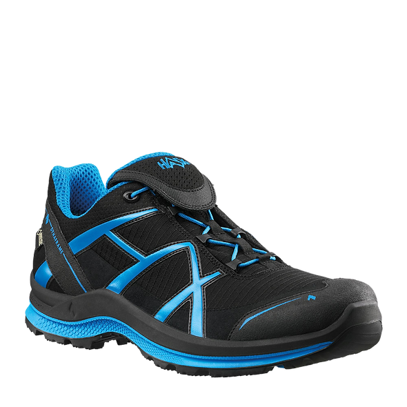 HAIX BLACK EAGLE ADVENTURE 2.0 LOW / BLACK-BLUE / GTX