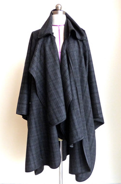 EWST Kimono Cape-Dressform view