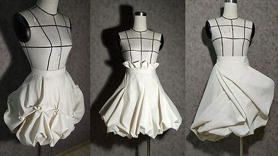 puff, sculptured, twisted skirts.002.jpe