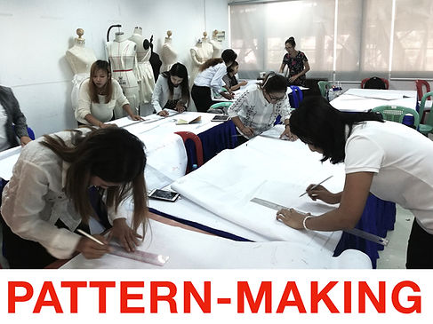draping and pattern courses for webpage.