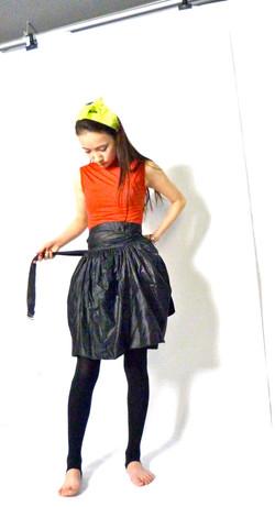 Wrap around tulip skirt