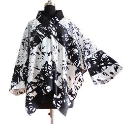 Kimono blouse without leftover