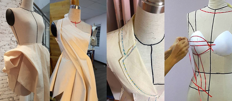 Series of workshops originally developed by Elena Ryleeva present Advanced Draping techniques