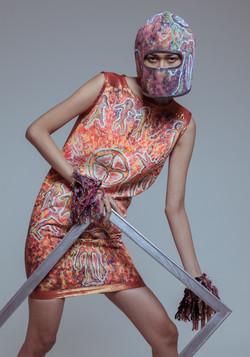 EWST Wearable art dress