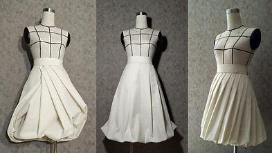 puff, sculptured, twisted skirts.001.jpe