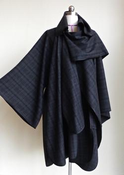 Kimono Cape Coat Front