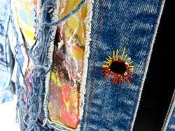 Jacket Painted detail
