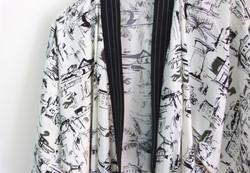 Kimono-robe free drawings