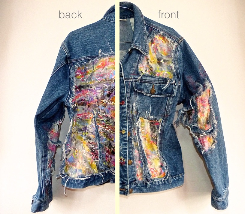Denim Re-cycled Jacket