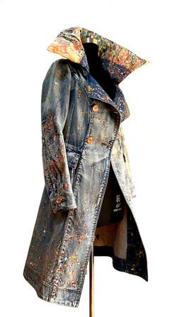 Art-a-porter: Denim coat transformed