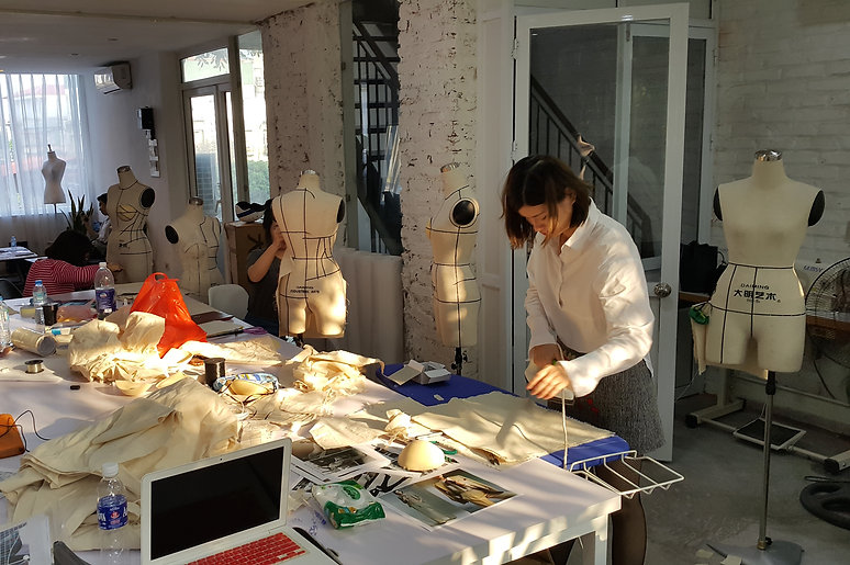 Our Fashion Design workshops encourage you to explore your design ideas and equip you with hands-on skills to translate them into a garment
