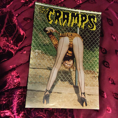 "SOLD! The Cramps ""A Date With Elvis"" 1986 tour program signed & inscribed by Fur"