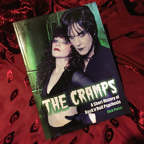 Fur's copy of the THE CRAMPS rare book by Dick Porter, inscribed to you.