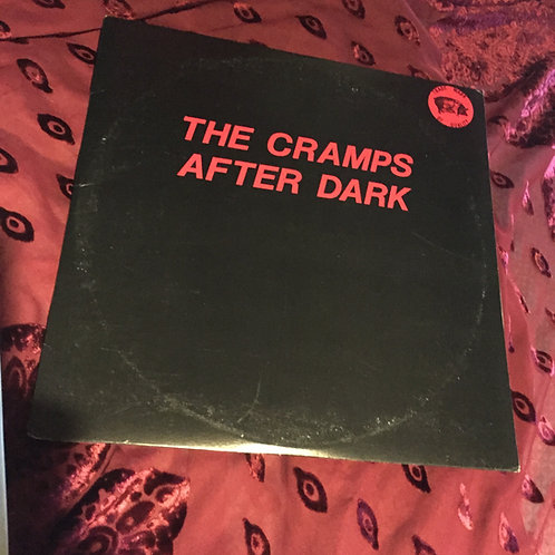 The Cramps - After Dark, live in 1986, double album signed by Fur to you.