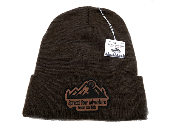Brown Spread Your Adventure Beanie