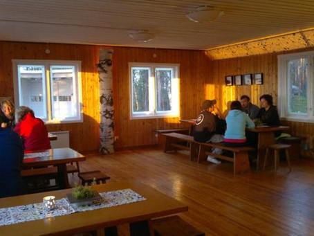 Eko-kafé på Storknabben och Våffelstuga vid Hembygdsgården