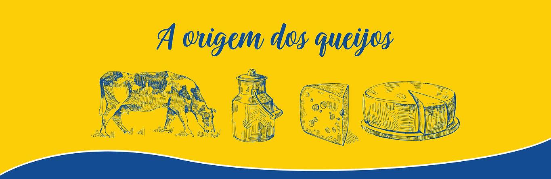 A origem dos queijos