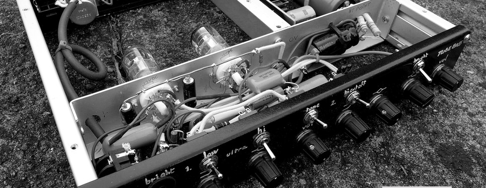 Dual Tube Bass Preamp SOLD