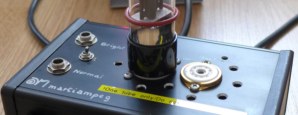 Tube Bass Preamp SOLD