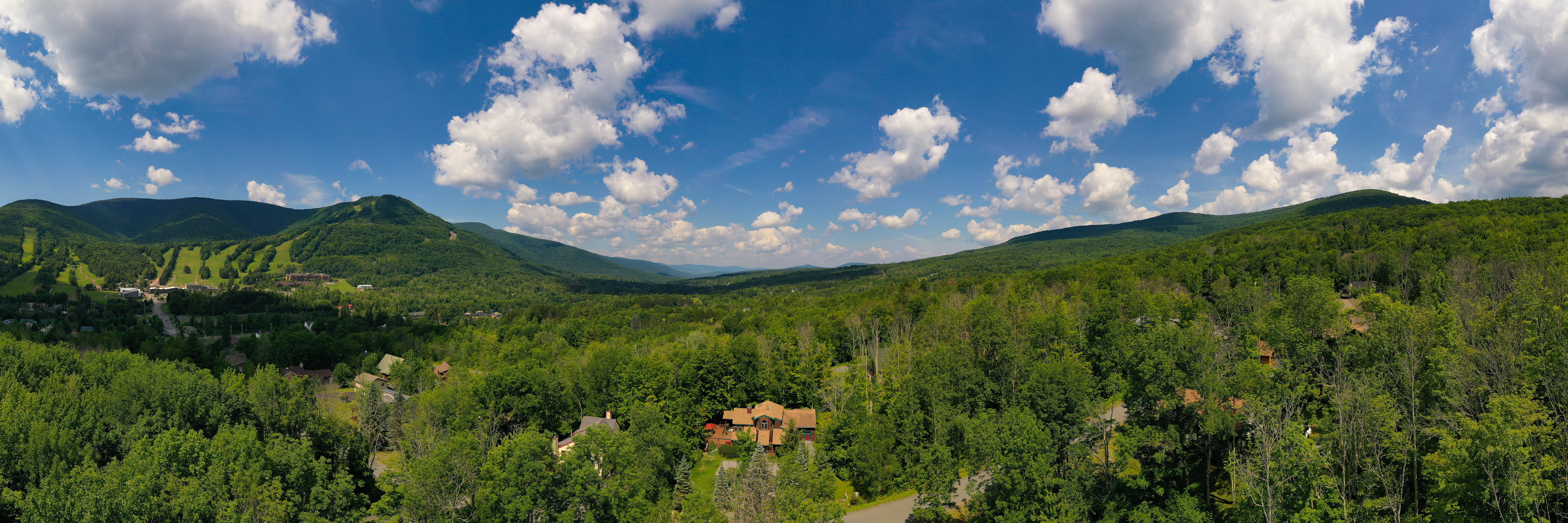 Beautiful Ski Mountains in Catskills, NY