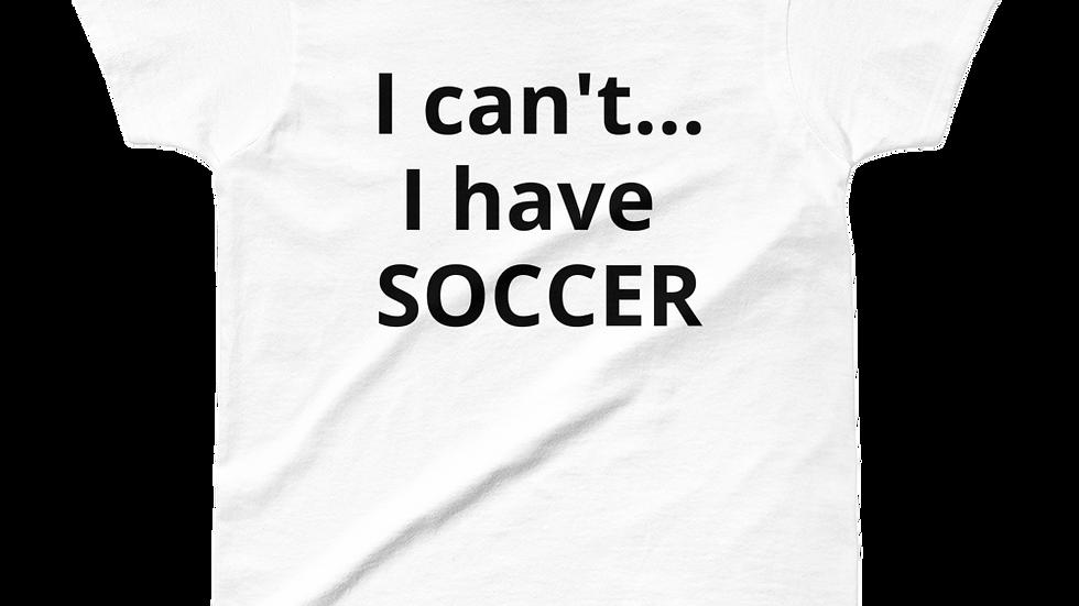 T-Shirt - Busy...soccer