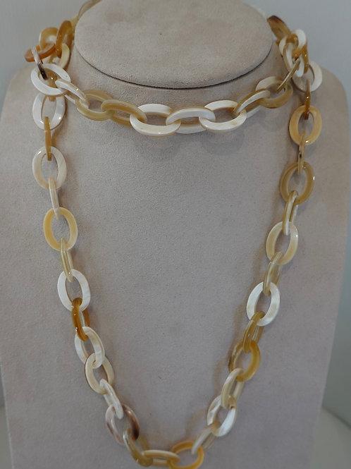 Wrap bone necklace