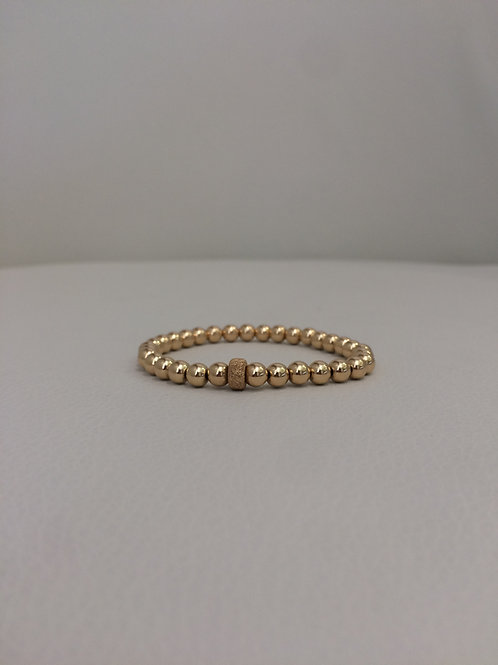 14K Gold Filled Stretch Bracelet