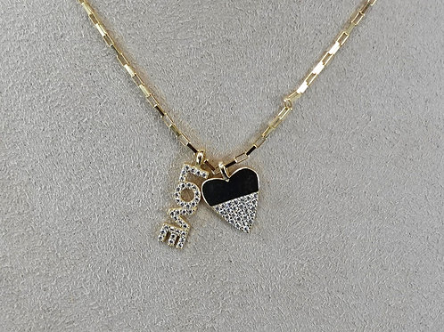 14k GF Love / Heart necklace