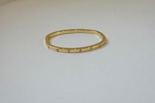 Gold Bracelet w/ Stones