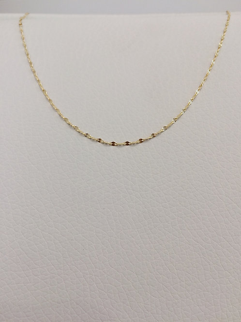 14K Gold Plated/Sterling Silver Choker