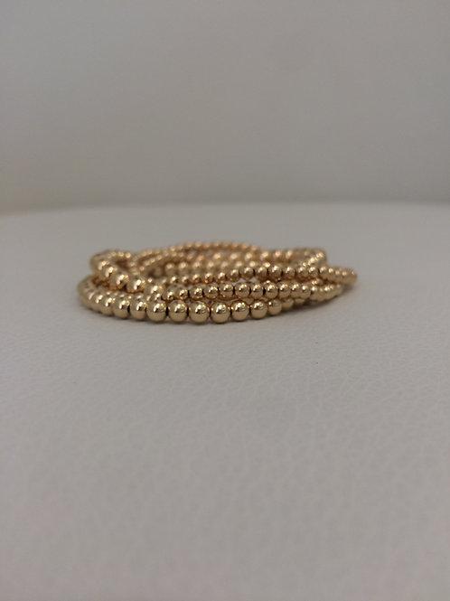 14K Gold Filled Stretch Bracelet priced individually