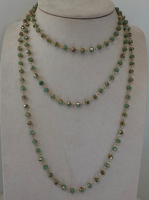 Multi Layering beaded necklace