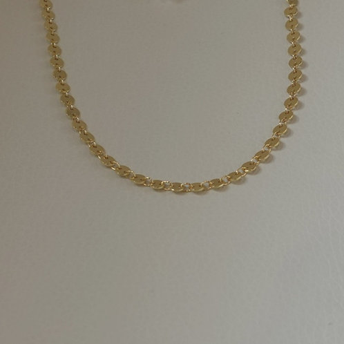 """14 K GF 12-14"""" adjustable chain. Great for stacking"""