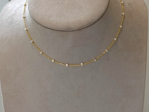 14k GF / Silver Choker- necklace