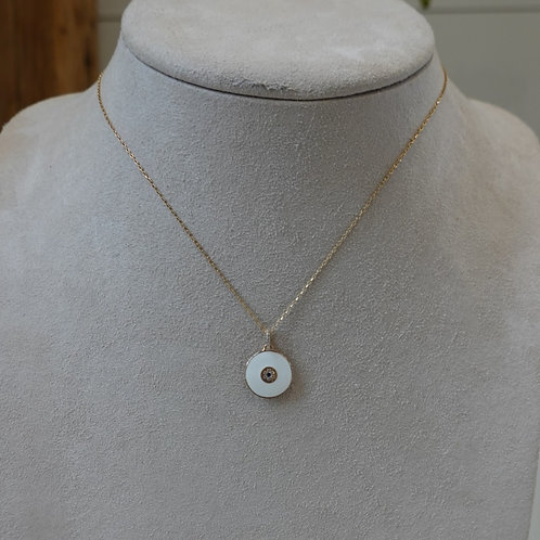 14 K GF/ Enamel Necklace