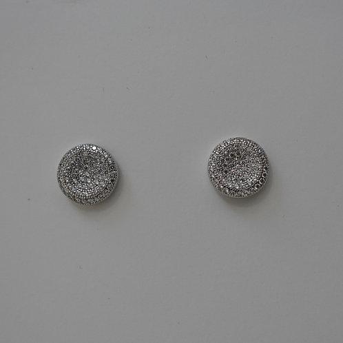 Thumb print earrings