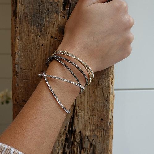 Bunch of fashion bracelets