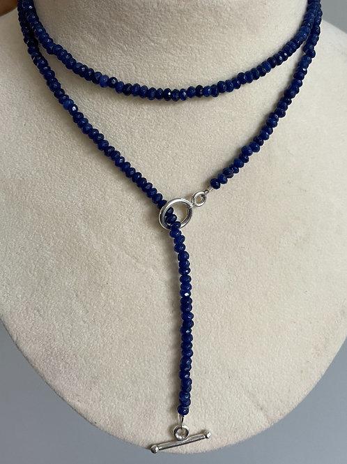 Blue spinel Lariat necklace/bracelet