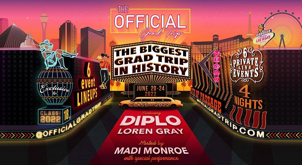 The Official Grad Trip   Las Vegas 2022