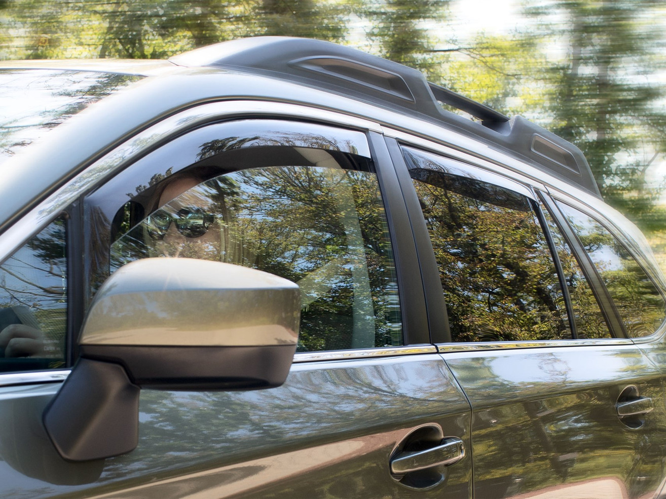 Exterior Vehicle Accessories Side Window Deflectors