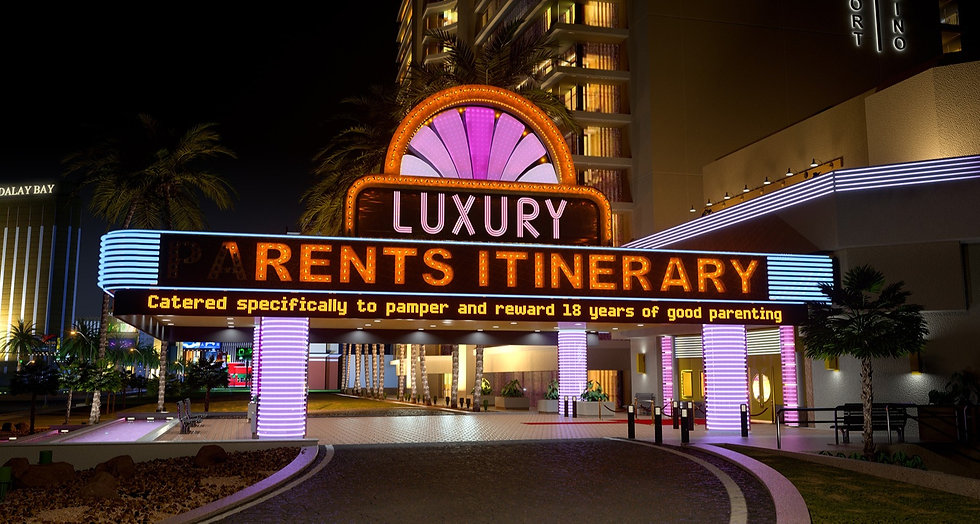 LUXURY 'RENTS ITINERARY | The Official Grad Trip Las Vegas