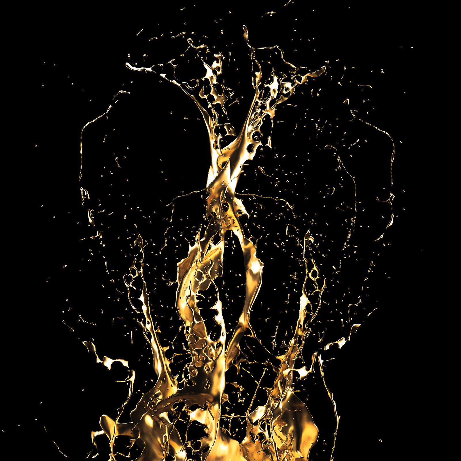 Golden Liquid